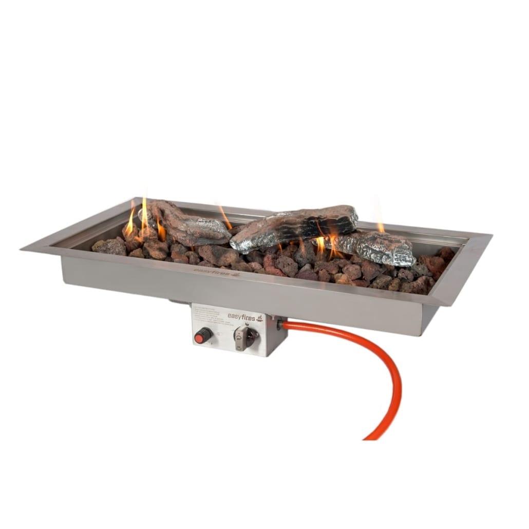 Inbouwbrander vuurtafel Easyfires 78 cm x 38 cm