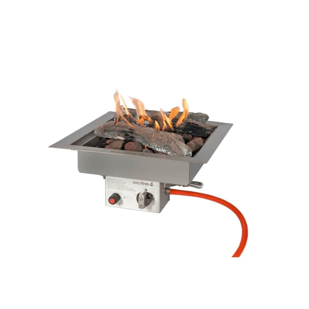 Easyfires inbouwbrander 40 cm x 40 cm