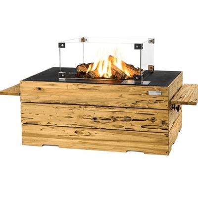 Cocoon Table Driftwood Rechthoek zwart