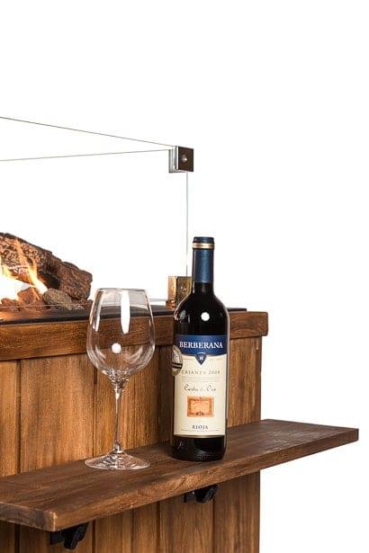 Houten Side Table Teakhout Klein 580 x 165 x 20
