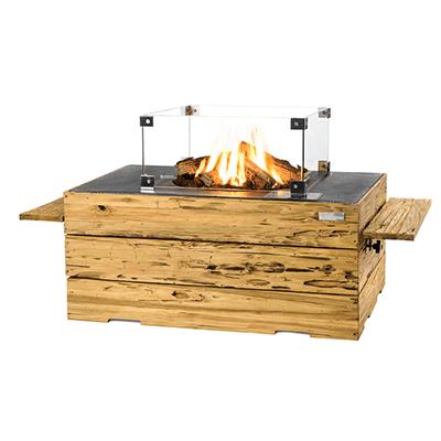 Cocoon Table Driftwood Rechthoek antraciet