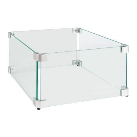 Glasombouw tbv inbouwbrander 30 cm x 30 cm